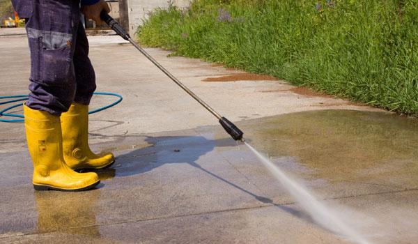 highpressure cleaning